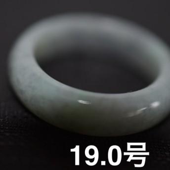 172-12 特売19.0号 天然 A貨 グレー 黒 翡翠 リング レディース メンズ 指輪 硬玉ジェダイト
