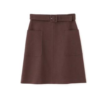 ジル スチュアート JILLSTUART ドロシー台形スカート BROWN 0【税込10,800円以上購入で送料無料】