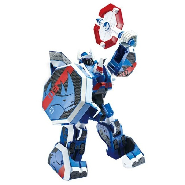 機甲超獸王geo mecha 藍犀王 yt16003 原廠公司貨 young toys