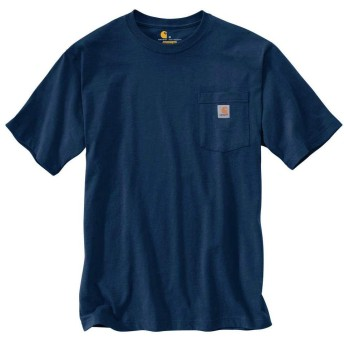 [カーハート] CARHARTT WORK WEAR POCKET TEE (NVY)NAVY [M] [並行輸入品]