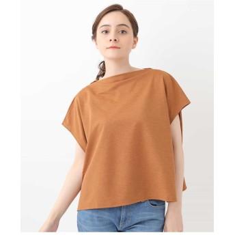 GIANNI LO GIUDICE ボックスシルエットカットソー Tシャツ・カットソー,オレンジ