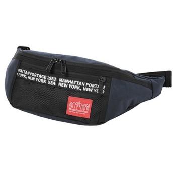 マンハッタン ポーテージ Alleycat Waist Bag Double Typeset ユニセックス D.Navy XS 【Manhattan Portage】