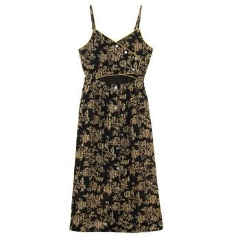 OKIRAKU / フローラルプリント ドレス
