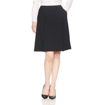 [ヌーヴォ] ソフトプリーツスカート スーツ オフィス ビジネス FS45887 レディース ブラック 日本 17 (日本サイズ17 号相当)