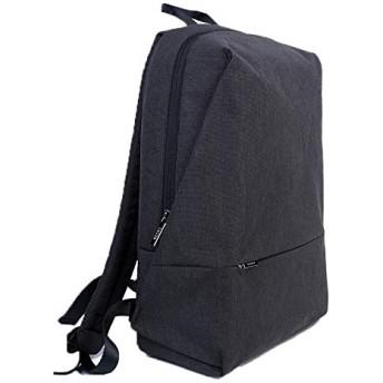 男女兼用ユニセックス学生用 アウトドアリュック大容量の残りファッション多機能バックパックのためのラップトップのバックパック ボディバッグ斜めがけ (Color : Black, Size : 423016 CM)