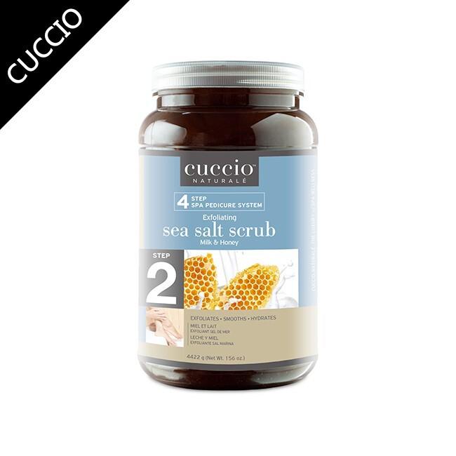 cuccio蜂蜜牛奶深層海鹽156oz 美國原廠代理 台灣公司貨米蘿美甲美睫熱蠟
