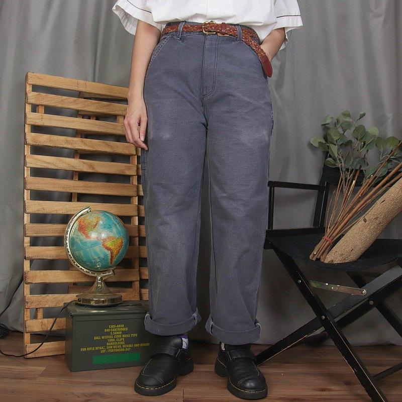 Carhartt畫家褲A14,29腰 灰色 工作褲 長褲【Tsubasa.Y 古著屋】