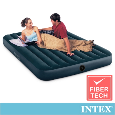 INTEX 經典雙人加大充氣床墊 寬152cm