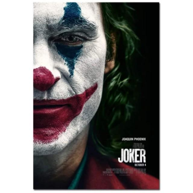 海外限定品 ジョーカー Joker ポスター 布シルク 高画質 特大 映画
