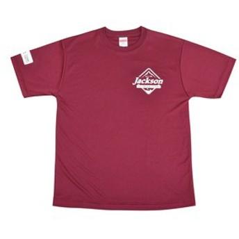 ジャクソン フィッシングウェア Jackson Tシャツ DRY SILKYTOUCH TEE  XL  バーガンディ