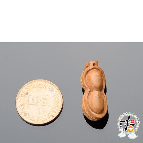 好事發生{桃木}木雕2.5*1.0公分  配件1個十方佛教文物