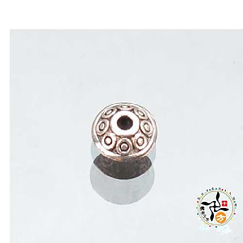 花片 藏銀 珠 0.6公分配件2個十方佛教文物