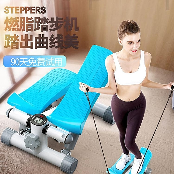 踏步機家用女多功能瘦腿腳踏小型運動健身器材瘦身踩踏登山機YJT 暖心生活館