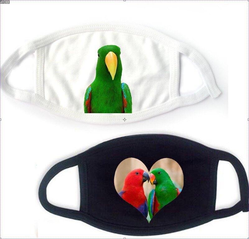 ✪鸚鵡笑笑✪ 棉質透氣口罩 - 鸚鵡類  ( 非醫療用)
