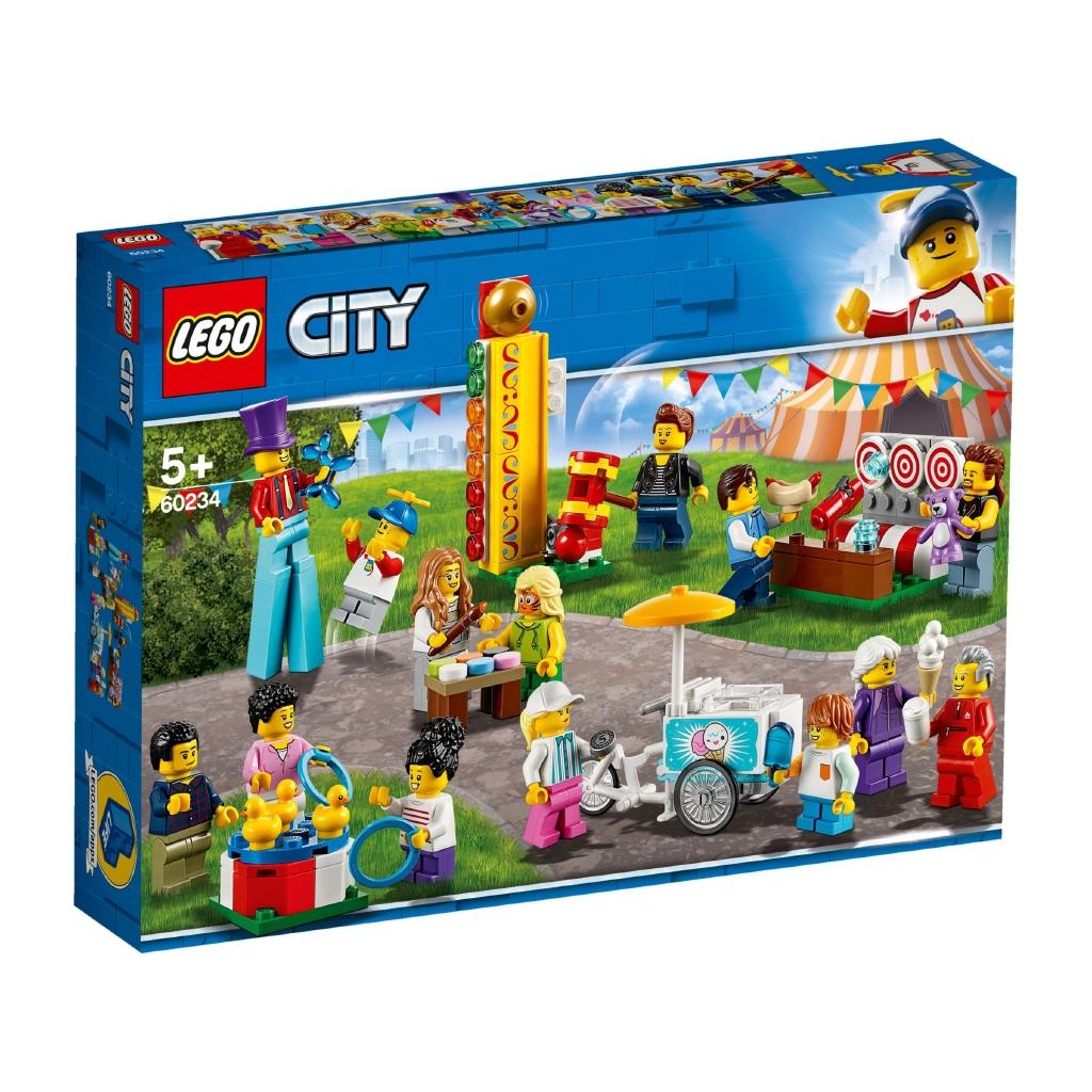 樂高 LEGO City 城市系列 60234 人偶套裝 園遊會