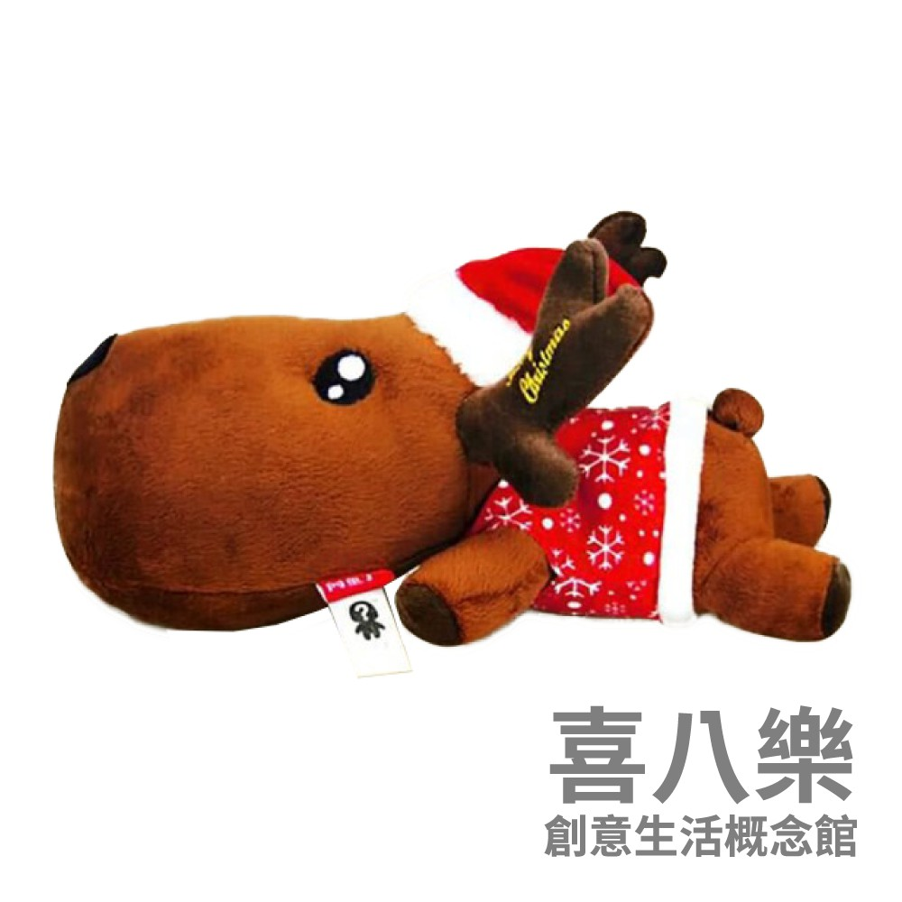 【台灣現貨】幸運麋鹿吸濕竹炭包/除濕包/除濕劑_大號紅帽款