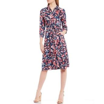 [ジュールズ] レディース ワンピース Briony Floral Print Tie Waist Midi Shirt [並行輸入品]