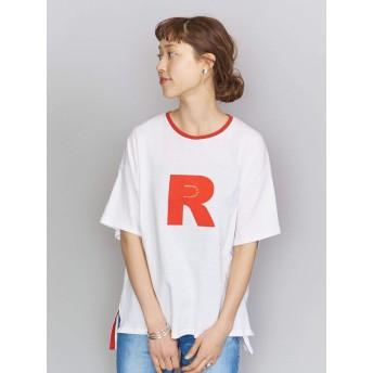 (ビューティ&ユース ユナイテッドアローズ) 【別注】<AMERICANA(アメリカーナ)>RED プリントTシャツ 16655990847 3500 RED(35) FREE