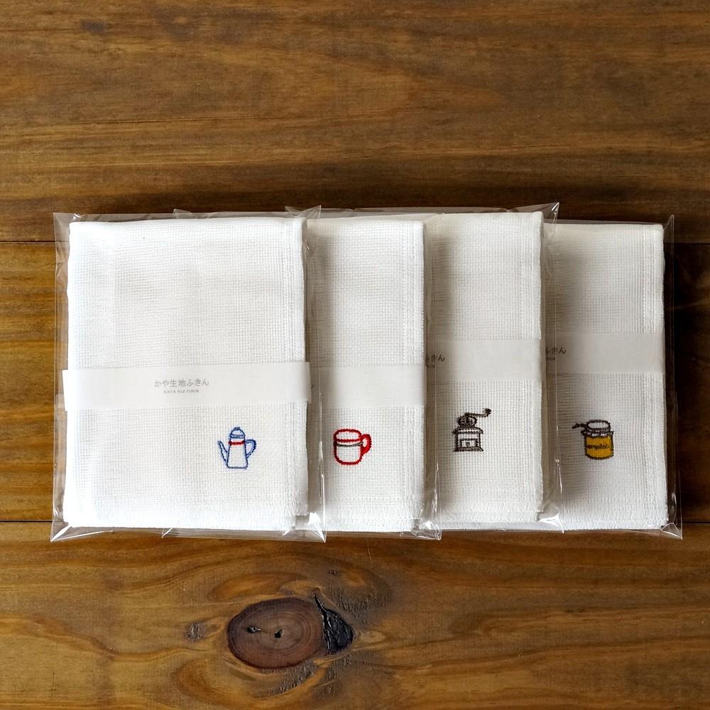 [偶拾小巷] 日本製 KAYA 純白蚊帳布廚房擦拭巾 紗布抹布