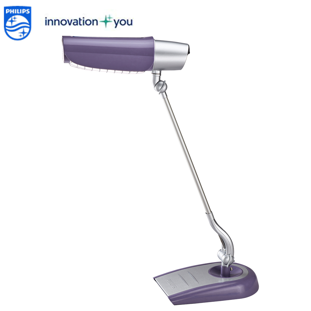 荷蘭-PHILIPS 飛利浦 LED美光廣角護眼檯燈 FDS980 紫色