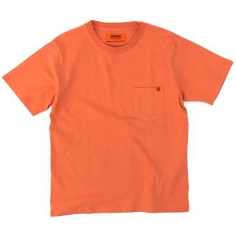 UNIVERSAL OVERALL ユニバーサルオーバーオール メンズ ポケットTシャツ[U2013232]Lサイズ ORG