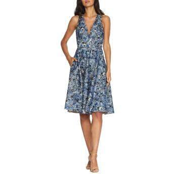 [ドレスザポプレーション] レディース ワンピース Sally Sequined V-Neck Dress [並行輸入品]