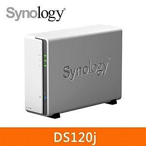 【綠蔭-免運】Synology DS120j 網路儲存伺服器