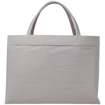 [和物屋] 着物 和装バッグ 衿秀 正絹 A4 サブバッグ (真珠色)