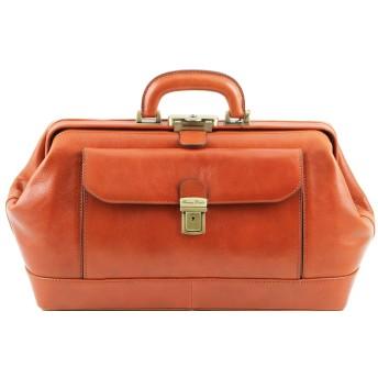 Tuscany Leather - Bernini - Esclusiva borsa medico in pelle Miele - TL141298/3