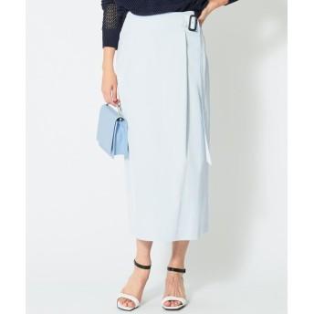(iCB/アイ シー ビー)【WEB&一部店舗限定】Comfy スカート/レディース スカイブルー系