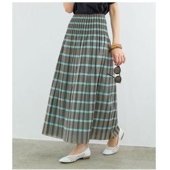 ROPE' / ロペ 【洗える】シャーリングリバーシブルスカート