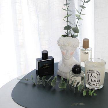 北歐ins復古腮紅大衛化妝筒花瓶擺件化妝臺化妝刷收納桶韓國網紅
