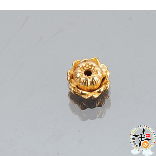 金蓮花1.1*0.6公分 配件1個  十方佛教文物