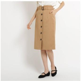 【AG バイアクアガール/AG by aquagirl】 【Lサイズあり】ベルト付フロントボタンスカート