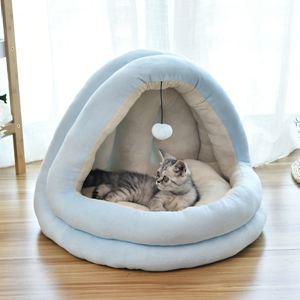 貓窩冬季保暖貓咪封閉式貓床貓屋別墅小狗窩網紅寵物用品四季通用
