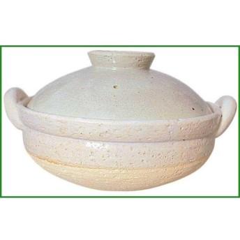 長谷園 ヘルシー蒸し鍋 白(大) 15711 b03