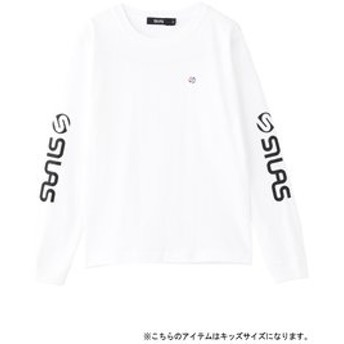 【SILAS:トップス】LS KIDS TEE LOGO SLEEVE
