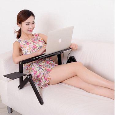 電腦桌筆記本電腦桌床上用簡約可摺疊鋁合金宿舍懶人小桌子書桌學習桌