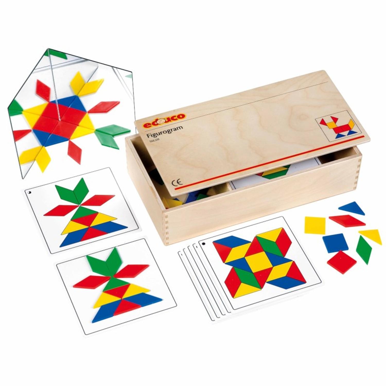 EDUCO - 幾何拼塊組圖遊戲