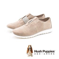 Hush Puppies Tricia Perf Slip On 氣質運動鞋 女鞋 淺咖