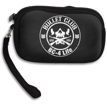 バレット・クラブ Bullet Club ミニ財布 コインケース 小物入れ ポーチ 小銭入れ カードケース ジップ付き シンプル キー 収納 かわいい 人気
