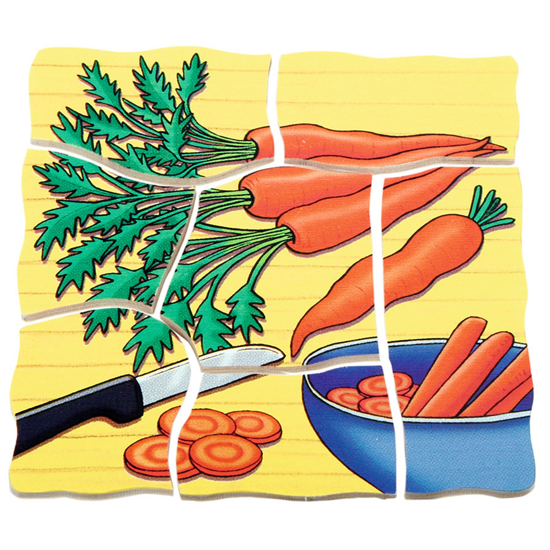 Beleduc - 多層拼圖-胡蘿蔔