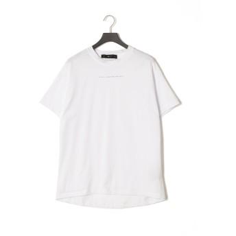 【81%OFF】プリント クルーネック 半袖Tシャツ ホワイト xs