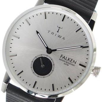 トリワ TRIWA クオーツ ユニセックス 腕時計 FALKEN FAST106-WC010112 シルバー / ブラック シルバー