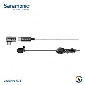 【聖影數位】Saramonic 楓笛 Type-C LavMicro U3B 全向型領夾麥克風