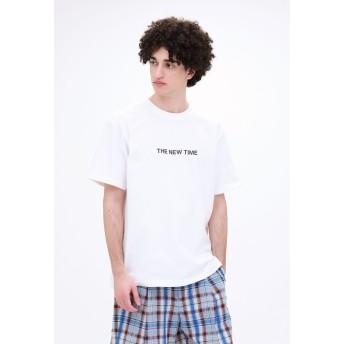 LOVELESS THE NEW TIME ロゴT Tシャツ・カットソー,ホワイト