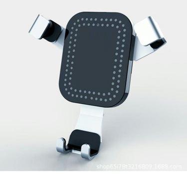 車載汽車無線充 汽車出風口吸盤車載支架磁吸無線充電器手機支架