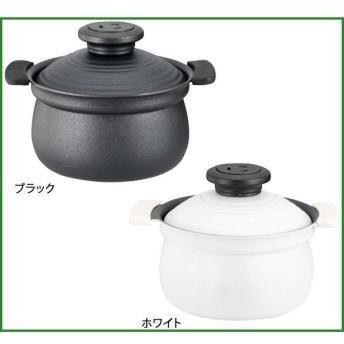 KUKUNA KITCHEN ククナ 2合炊き アルミ炊飯鍋 ブラック・KKN-RC02BL・6152-016|b03