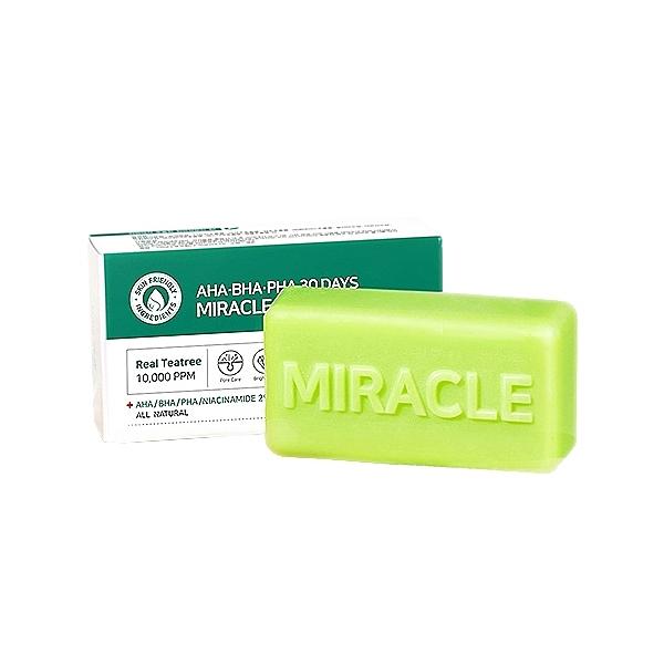 韓國 SOME BY MI 30天奇蹟皂(95g)【小三美日】洗臉皂/身體香皂