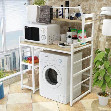 洗衣機置物架落地滾筒洗衣機架子多功能儲物架陽臺衛生間收納架